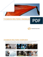Thomson Reuters Presentation