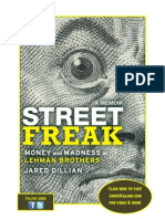 STREET FREAK by Jared Dillian—read the first chapter!