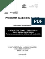 Programa Marco Camino Del Gaucho