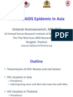 The HIV/AIDS Epidemic in Asia (Jintanat Ananworanich)