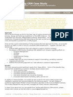 Banking CRM Case Study