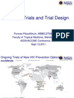 HIV Vaccine Clinical Trial Updates and Novel Vaccine Design (Punnee Pitisuttithum)