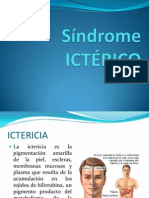 Síndrome Icterico