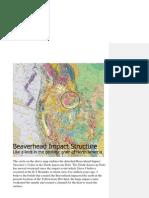 Beaverhead Impact Crater K-T Boundary Event ?