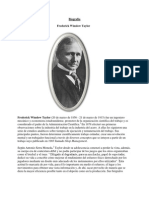 Biografia Frederick Winslow Taylor