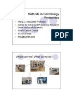 Methods in Cell Biology Proteomics _ Hong Ki Et Al Lecture