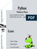 Primerso Pasos con Python