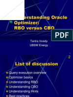 Understanding the Oracle Optimizer