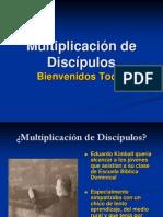 Multiplicación de Discípulos