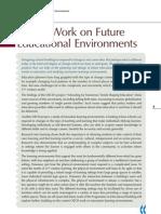 Oecd Work on Future Educational Enviroments