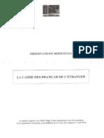 Rapport Cour Comptes CFE