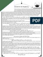 Gründe für die Vergebung [Freitagsansprache vom 09.09.11]