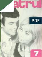 Revista Teatrul, nr. 7, anul XII, iulie 1967