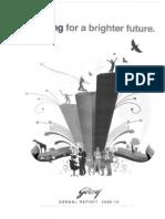 Godrej Consumer Pvt Ltd Annual Report