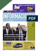 periódico informaciones primera quincena SEPTIEMBRE 2011