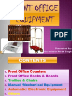 Front Office Equipment