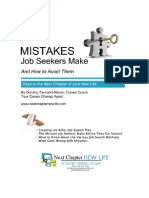 Mistakes Job Seekers Make Series eBook