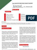 ZIPPA Journal July - Sept 2008