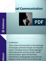 Non- Verbal Communication 1