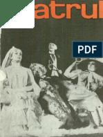 Revista Teatrul, nr. 11, anul XII, noiembrie 1967