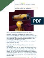 Reflective Telescope Activity Guide 173