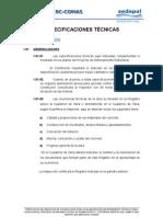 6.1 Especificaciones Tecnicas RC COMAS