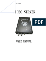 FUM-T10-User Menu-English Video Server de La Enivision