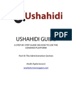 Ushahidi Manual (Admin Section)