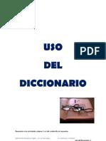 Uso diccionario para cursos de Lentocomprensión