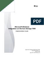 Sun 7000 Implementation
