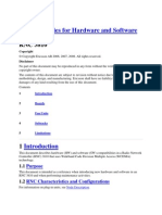 Compatibilities for Hardware and Software 3810