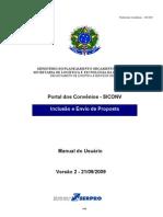 Novo Manual Siconv3