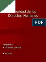 Integridad de Los Derechos Humanos