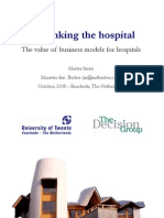 Rethinking the hospital - The value of business models for hospitals