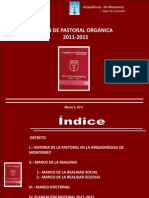 2011 Plan Diocesano Pastoral Segunda Version (1)