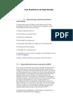 cap. 7  VI Diretrizes Brasileiras de Hipertensão