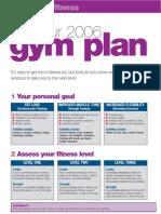 Personal Gym Plan