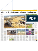 Mineria ilegal Mdd