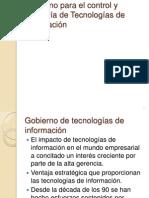 Estándares para el control y Auditoría de Tecnologías
