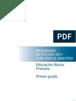 Programas de Estudio 2011