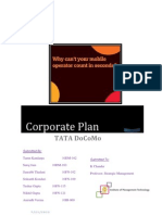 TATA DoCoMo Corporate Plan