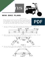 Wren Minibike Plans