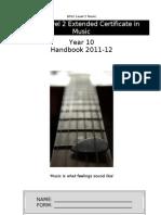 Pupil Handbook Year 10