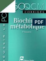 Biochimie Métabolique - 150 QCM - coursmedecine