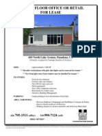 603 & 605 N. Lake Avenue, Pasadena |  for Lease