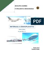 Coric, Filetin - Materijali u Zrakoplovstvu