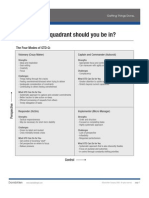GTD Which Quadrant