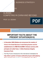 Case Study Analysis Alibaba Competing In China Beyond 18 7 2011