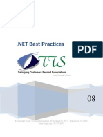 DotNet Best Practices 2