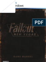 Fallout New Vegas Manual